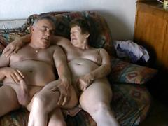 Mature Exhibitionist Couple Masturbating Openly