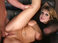Freaky Blonde Slut Gets A Mouth Full Of Sperm After Hard Sex