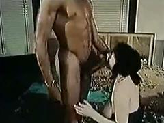 White Wife Has Her First Black Cock In This Retro Action