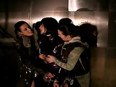 Kinky Fetish Latex Lesbian Babes Get Wild And Horny