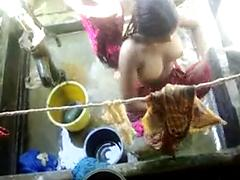 Bangla desi village girls bathing in Dhaka city HQ 5