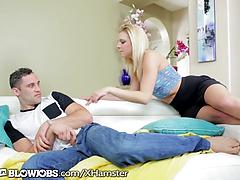 Step-brother Caught By Teen stepsis