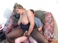 Chubby Babe With Big Titties In Need Of A Good Fucking