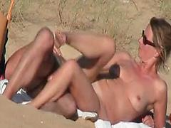 Hidden vid of French couple on the beach part 4